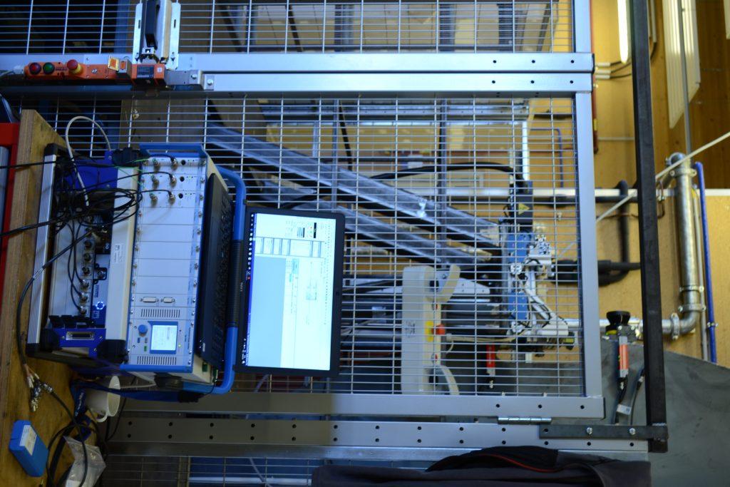 Zesilovač a záznamové zařízení pro sensor síly